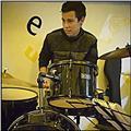 Músico baterista de la ciudad de armenia