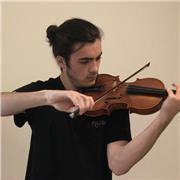 Etudiant au CRR de Boulogne-Billancourt propose cours de violon, alto et solfège
