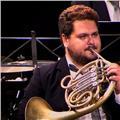 Trompa, guitarra, lenguaje musical, armonia